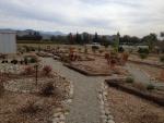 Pea gravel pathways